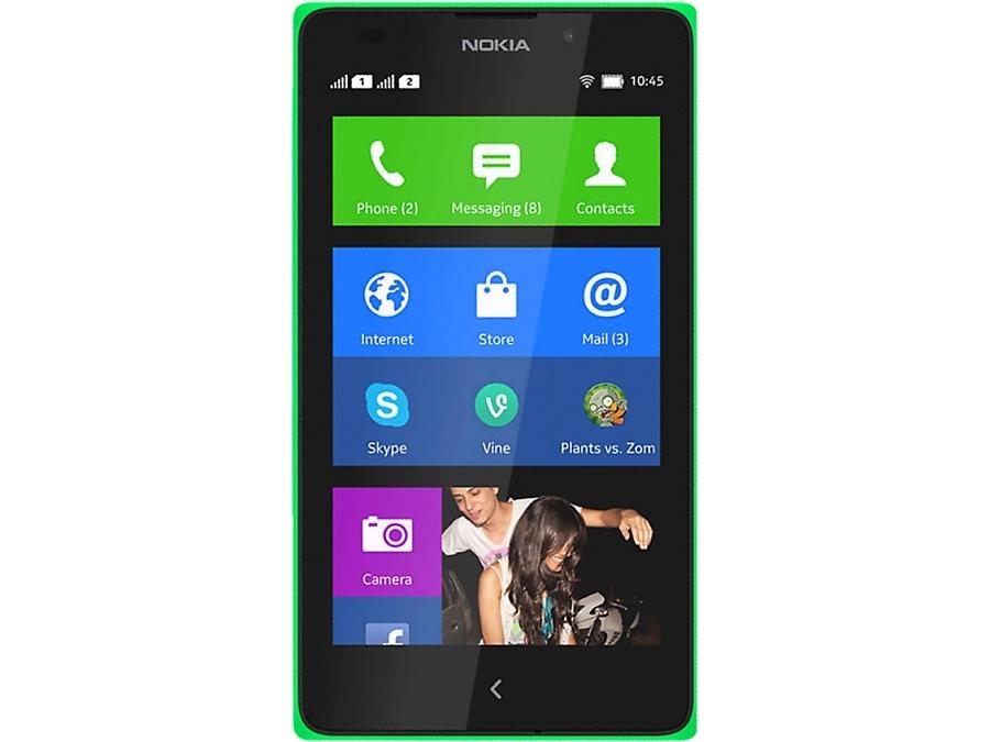 Смартфон Nokia X Dual Sim Green